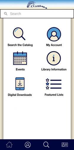 Screenshot_20210220-122502_CLAMS Library Network
